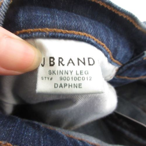 24 - J BRAND Dark Wash Skinny Leg Stretch Fit DAPHNE Flattering Jeans 1005MH