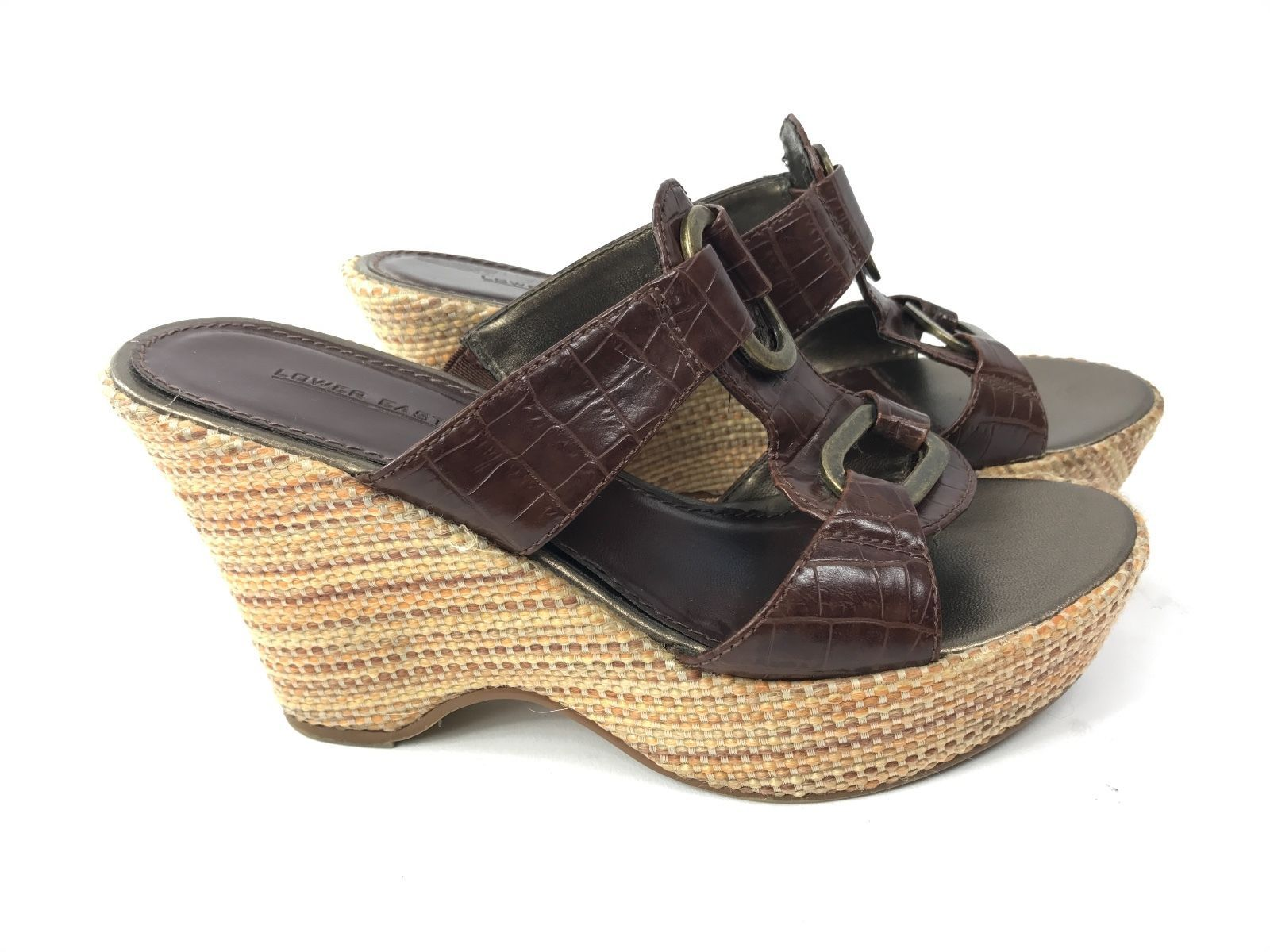 d55e4bbf6 Lower East Side Wedge Strapy Heels Size 6.5 and 50 similar items. S l1600