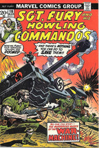 Sgt. Fury and His Howling Commandos Comic Book #118 Marvel 1974 FINE-/FINE - $5.24