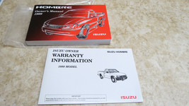 OEM FACTORY 1999 HOMBRE OWNERS MANUAL L-237 - $21.02