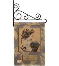 Proverbs 31:28 Burlap - Impressions Decorative Metal Fansy Wall Bracket Garden F - $33.97