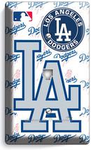 LOS ANGELES DODGERS LA BASEBALL TEAM PHONE TELEPHONE PLATE COVERS MAN CA... - $11.69