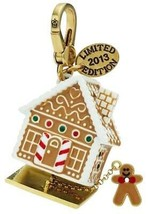 Juicy Couture Charm 2013 Ltd Gingerbread House Goldtone NEW - $97.02