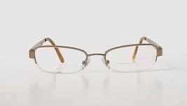 Authentic Gucci 2769 Strass Womens Eyeglasses Half Rimless Rectangular 5... - $35.06