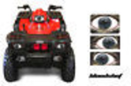 AMR HEAD LIGHT EYES GRAPHIC DECAL POLARIS SPORTSMAN ATV 500 PART 95-04 B... - $22.95