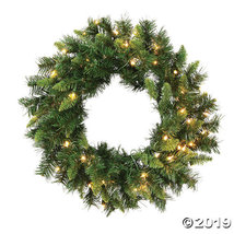 "Vickerman 24"" Imperial Pine Christmas Wreath with Clear Lights - $44.00"