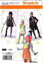 Simplicity Pattern 2525 Steampunk Gothic St Pats Costume Misses Szs 14- 20 Uncut - $4.99