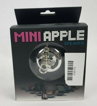 Mini Apple Speaker Keyring Clip USB Power Input 3W Power Output D40mm Sp... - $19.79 CAD
