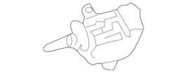 Genuine Mercedes-Benz Lock Actuator 204-820-53-97 - $23.72