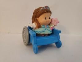 Fisher Price Little People Hospital Friends 72595  w/ Girl Wheelchair 1998 Vtg - $19.95