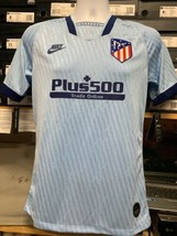 nike atletico madrid Third Jersey 19/20 Stadium Cut Sky Blue Size Small Only - $89.10