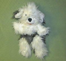 "24"" FOLKMANIS SHEEP DOG FULL BODY PUPPET FOLKTAILS PLUSH STUFFED GREY WH... - $34.65"