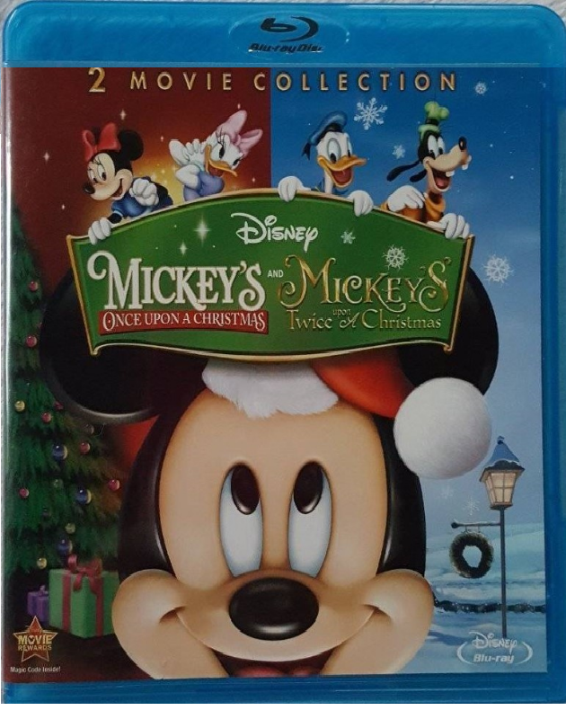 Disney Mickey's Once Upon A Christmas / Twice Upon Christmas [Blu-ray]