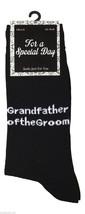 1 Paire Noir Hommes Chaussettes Mariage 6-11 Uk 39-45 Euros grand-père d... - $7.52