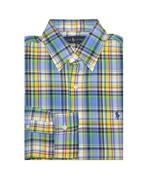 New Ralph Lauren Men Long Sleeve Plaid Oxford Shirt Size S Multi Colors - $46.74