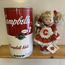 1994 Campbells Soup Kids 125 Anniversary Celebration Porcelain Collectib... - $69.29