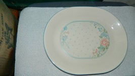 Corelle Symphony Floral Pattern 12.25 In Oval Serving Platter Vguc Free Usa Ship - $20.56