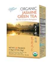 Prince of Peace Organic Jasmine Green Tea, 20 Tea Bags - $4.32