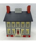 Winfield Designs - The Old Gray Inn - wooden coin bank - signed 1986 - $18.32