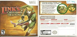 Link's Crossbow Training Nintendo Wii 2007 Disc & Manual Very Clean Disc... - $6.85