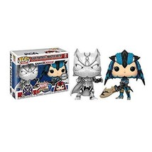 Funko - Figurine Marvel Vs Capcom - 2-Pack Black Panther Vs Monster Hunt... - $98.99