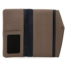 Otto Angelino Genuine Leather Envelope Wallet with Phone Compatible Slots - RFID image 5