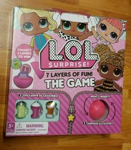 L.O.L. Surprise! 7 Layers of Fun! The Game NIP Ages 5+ - $4.95