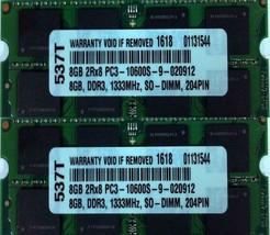 16GB 2X 8GB DDR3 RAM MEMORY FOR APPLE MACBOOK PRO PC3-10600 DDR3 1333MHZ SODIMM