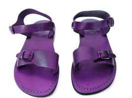 Leather Sandals for Men and Women KIBUTZ by SANDALIM Biblical Greek Summ... - $39.83 CAD+