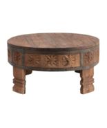 Wood and Metal Hand Carved Pedestal - $113.85
