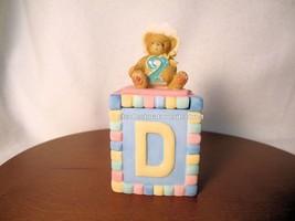 Cherished Teddies Covered Box Birthday Age 2  2001 NIB - $25.69
