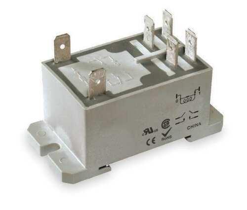 NEW Dayton 1EJH9 6 Pin Enclosed Power Relay DPST-NO 24VDC Coil Volts