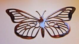 "Metal Wall Art Decor Butterfly 12"" x 6"" - $17.81"