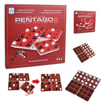 Pentago Strategy Board Game - Award Winning Challenging Fun for All Ages... - $20.00