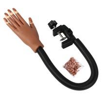 Hand Model for Nail Art Making Exercises Nail Art Fake Hand Painting Tools - $29.00