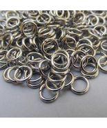 Jump Rings 6mm - 500PCs Wholesale Silver Tone 18 Gauge Open Jump Rings F... - $16.00