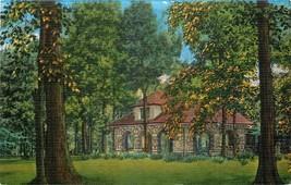 Linen OH Postcard Da785 Faurot Park Lima Building Trees Recreation House... - $7.00