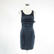 Gray blue color block cotton blend BCBG MAX AZRIA sleeveless sheath dres... - $49.99