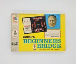 Vintage 1967  Goren's Beginners Bridge Teaching Card Game Tutor Milton Bradley - $23.99