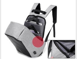 Anti Theft Smart School College Travel Backpack Safe Bag USB Charging La... - $41.99