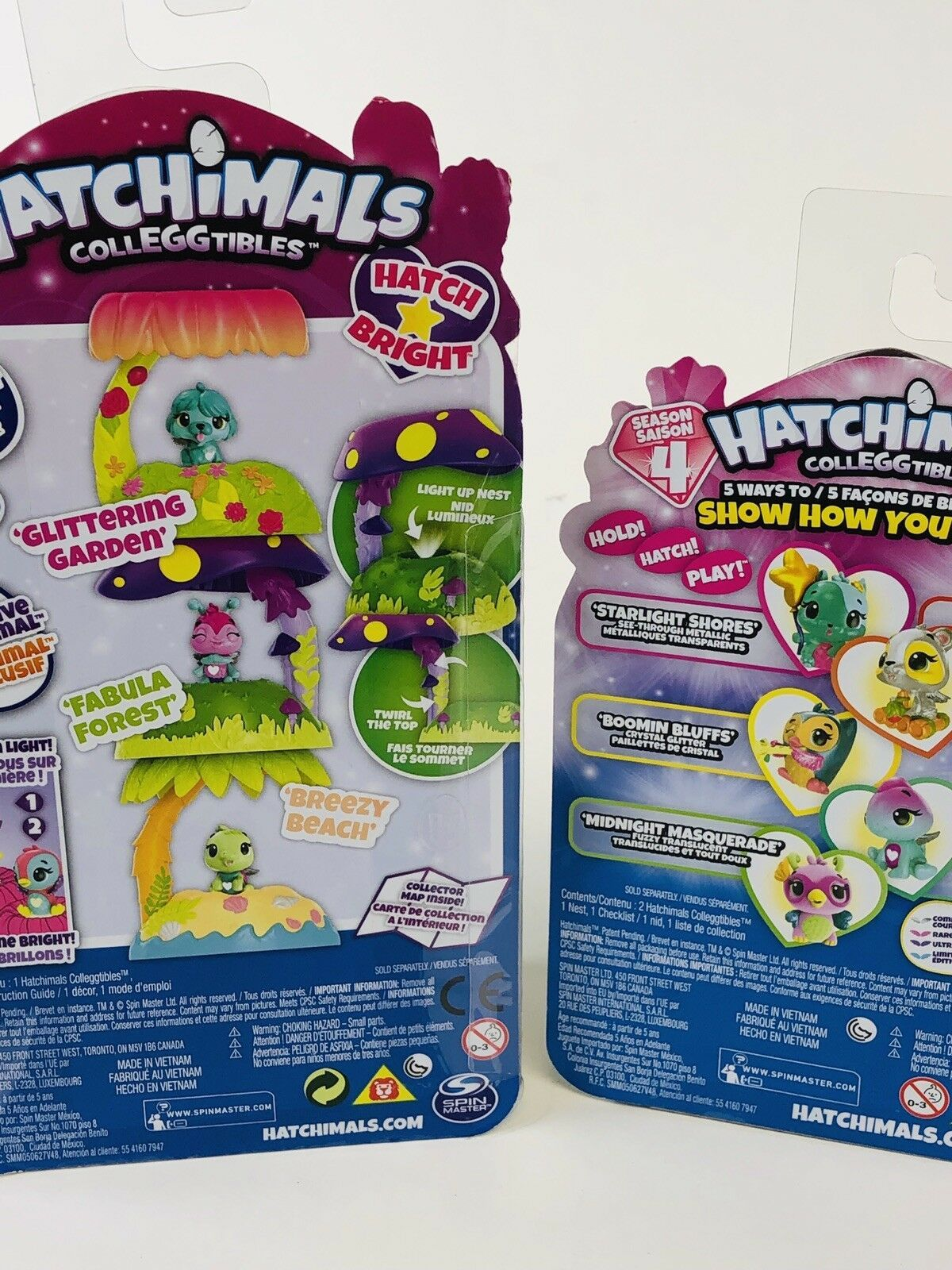 2 Hatchimals  Season 4 Collectibles New Sealed    2Pac Plus Nest  Hatchery Home