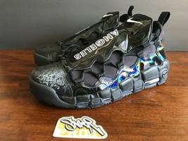 Nike W Air More Money Lx Los Angeles Triple Black AJ1312 100 Us Wmns 11.5 - $117.59