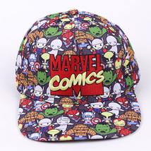 Marvel Comics Baseball Cap Hat Snapback Cotton Baseball For Men Women - $27.99
