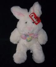 "16"" Vintage Baby Ganz Choice Bunny Rabbit W/ Puff Bow Stuffed Animal Plush Toy - $26.65"
