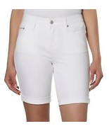 Calvin Klein Jeans Ladies' Denim City Short/2/ WHITE LIGHT   - $14.84