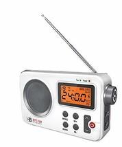 Coby 119 Battery USB Operated Hybrid Power Portable FM AM Radio Backlight Alram