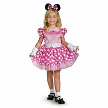 Disguise Minnie Deluxe Toddler Costume Dress Only, Sz Xs (3T-4T) - $14.24