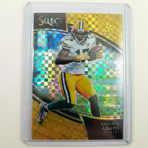2018 Panini Davante Adams Select GOLD Prizm 3/10 Field Level 251 NFL Par... - $45.48