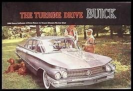 1960 Buick Color Brochure LeSabre Invicta Electra - $12.38