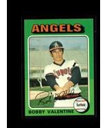1975 TOPPS #215 BOBBY VALENTINE VGEX ANGELS  - $0.99